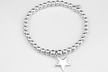 Simple Chunky Bracelet - Star