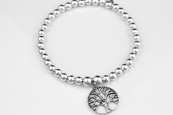 Simple Chunky Bracelet - Tree