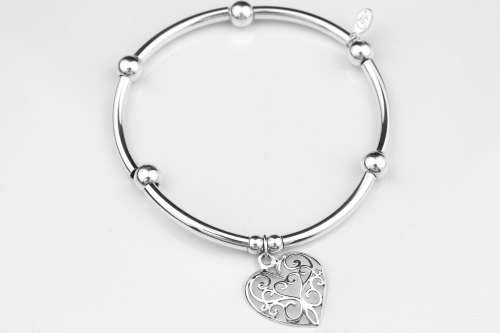 Silver stretch bracelet | CeFfi