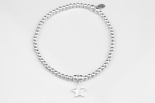 Star silver ball bracelet | CeFfi