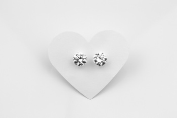 Large Cubic Zirconia Earrings