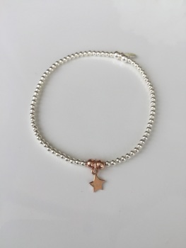 Dainty Touch of Rose Bracelet - Star