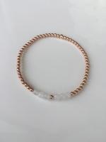 <!-- 006 -->White Rose Bracelet
