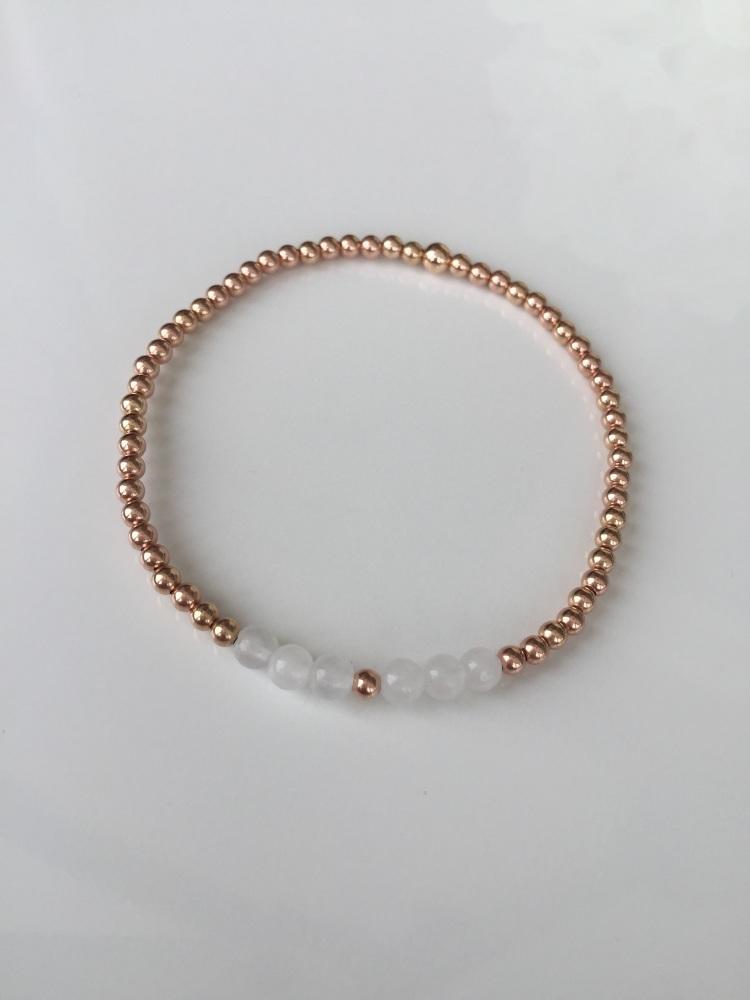 Rose stretch bracelet | CeFfi