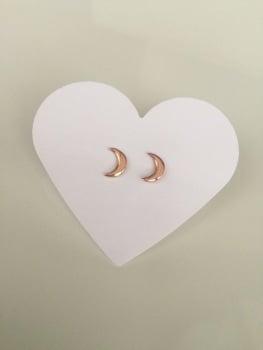 Rose Moon Earrings