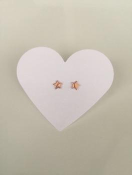 Rose Star Earrings