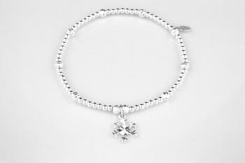 Glistening Snow Bracelet
