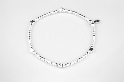 Star sterling silver 925 bracelet | CeFfi