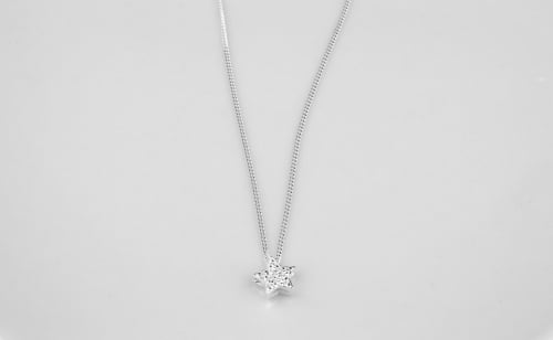 Sparkly star necklace | CeFfi