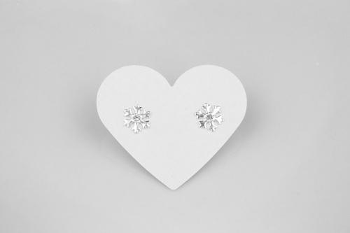 Sparkly snowflake earrings | CeFfi