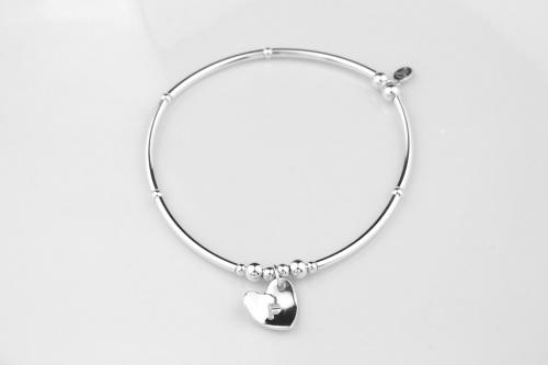 Personalised silver bracelet | CeFfi