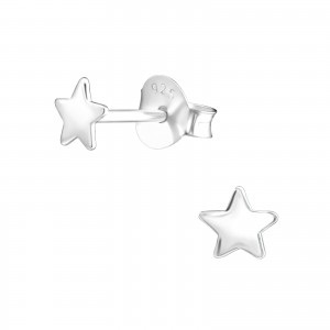 Dainty Star Earrings
