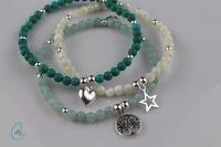 Semi-precious and Silver Bracelets