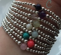 Semi-precious Statement Bracelets