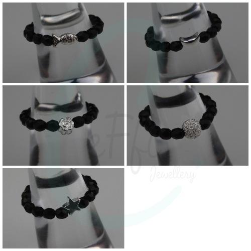 Mini Colour Ring - Black