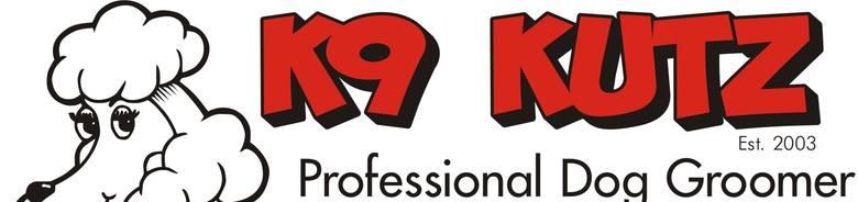 k9 kutz, site logo.