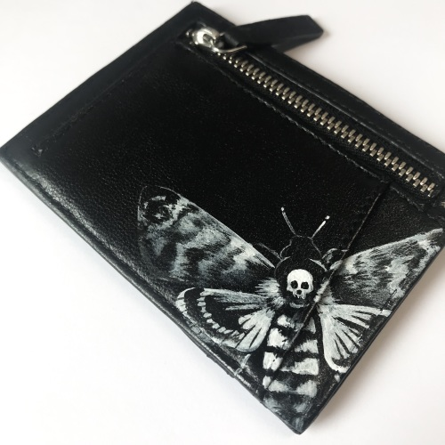 ACHERONTIA- Deaths Head Hawk Moth Card Holder