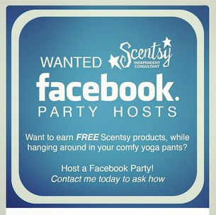 facebook party host scentsy