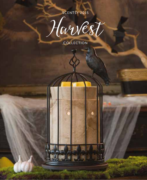 scentsy 2015 halloween harvest collection