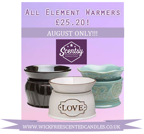 element scentsy warmers