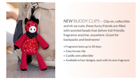 new scentsy buddy clips