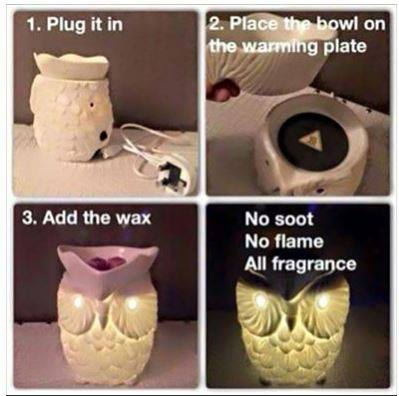 how to use a scentsy warmer