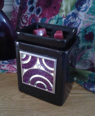 scentsy warmer wick free ebony cube