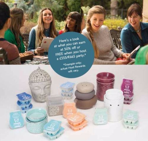 scentsy party rewards what you can earn