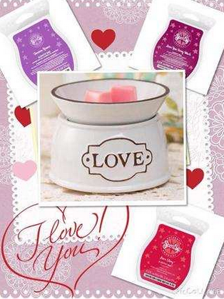 love wick free candle warmer scentsy