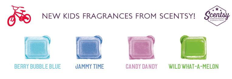 kids scentsy wick free scented candle bar fragrances