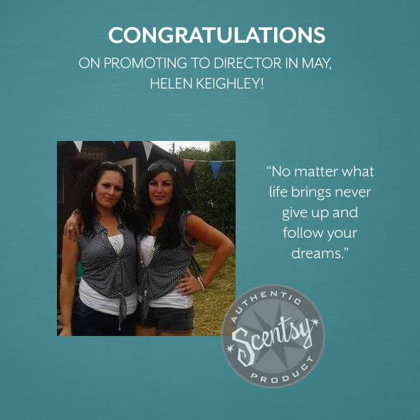 official scentsy director