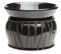 wickfree electric candle warmer scentsy black zebra