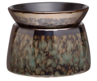 wickfree electric candle warmer scentsy green marble