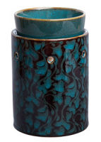 wickfree electric candle warmer scentsy swirling leaves