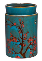 wickfree electric candle warmer scentsy cherry tree