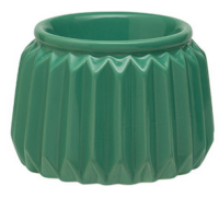 wickfree electric candle warmer scentsy venetian green