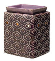 wickfree electric candle warmer scentsy ameythst