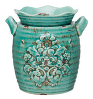 wickfree electric candle warmer scentsy rustic bloom
