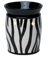 wickfree electric candle warmer scentsy zebra