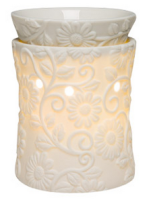 wickfree electric candle warmer scentsy flower vine