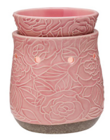 wickfree electric candle warmer scentsy crackling rose