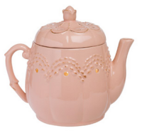 wickfree electric candle warmer scentsy vintage teapot