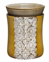 wickfree electric candle warmer scentsy moroccan stencil