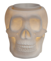 wickfree electric candle warmer scentsy bonehead