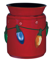wickfree electric candle warmer scentsy holiday lights