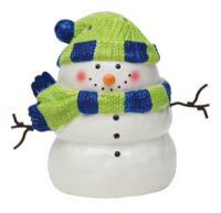 wickfree electric candle warmer scentsy snowman