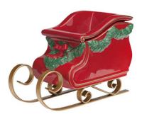 wickfree electric candle warmer scentsy santas sleigh