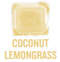 coconut lemongrass wickfree scented candle bar scentsy