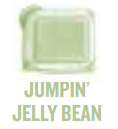 jumping jelly bean wickfree scented candle bar scentsy