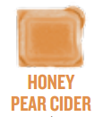 honey pear cider wickfree scented candle bar scentsy